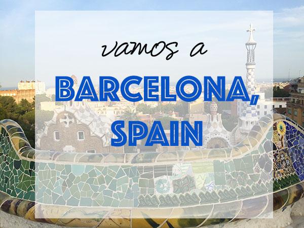 Vamos a Barcelona