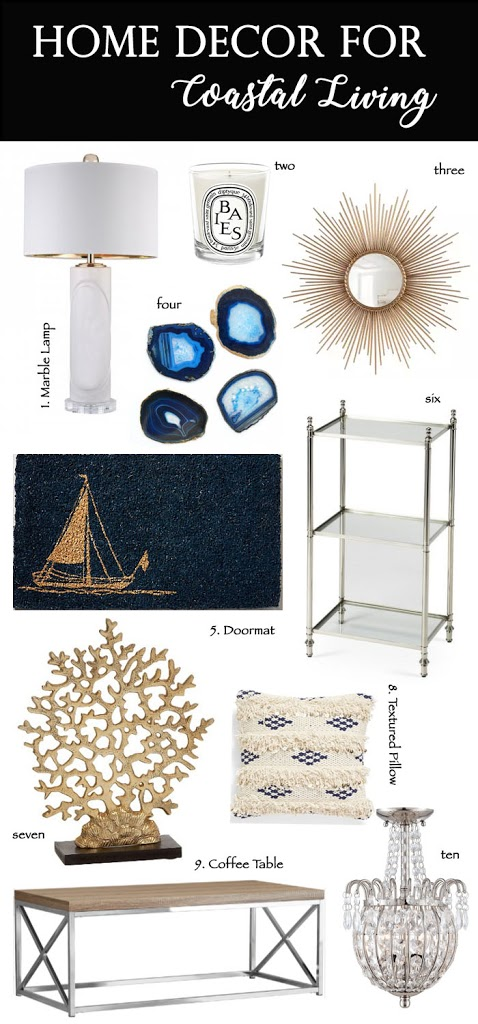 Home Decor Must Haves for Coastal Living