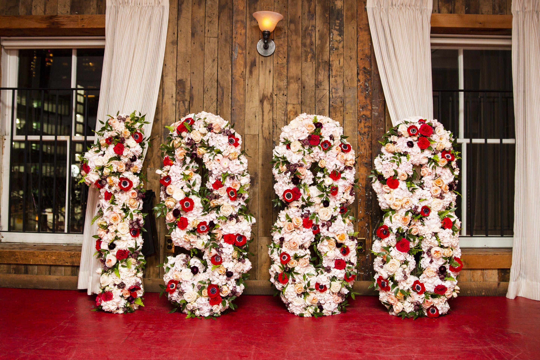 customized floral decor