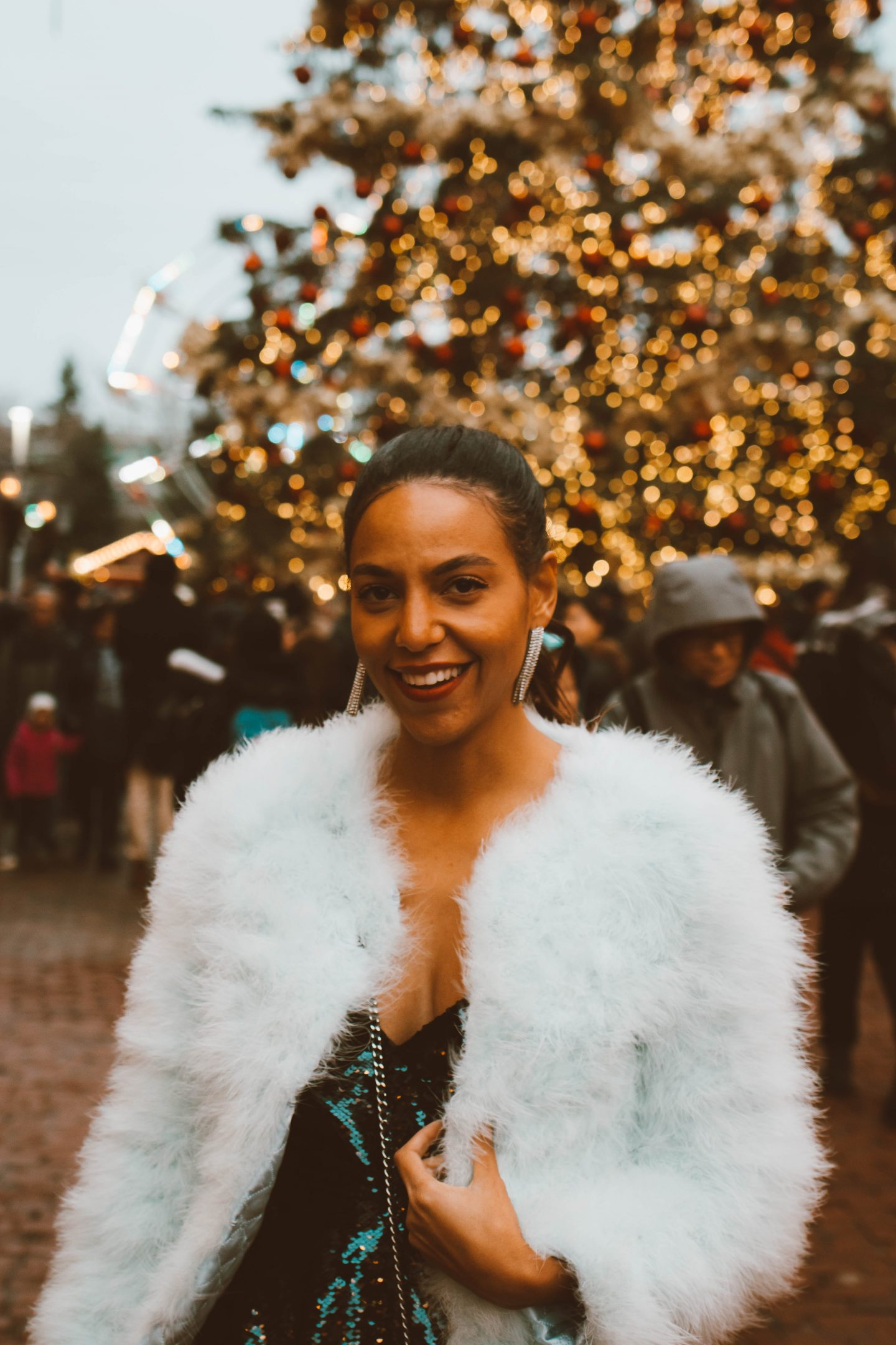 Parker NYC holiday look