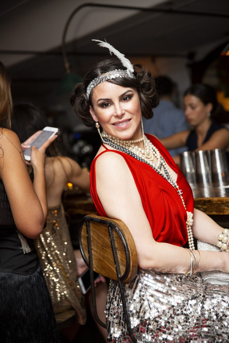 Great Gatsby inspired head piece