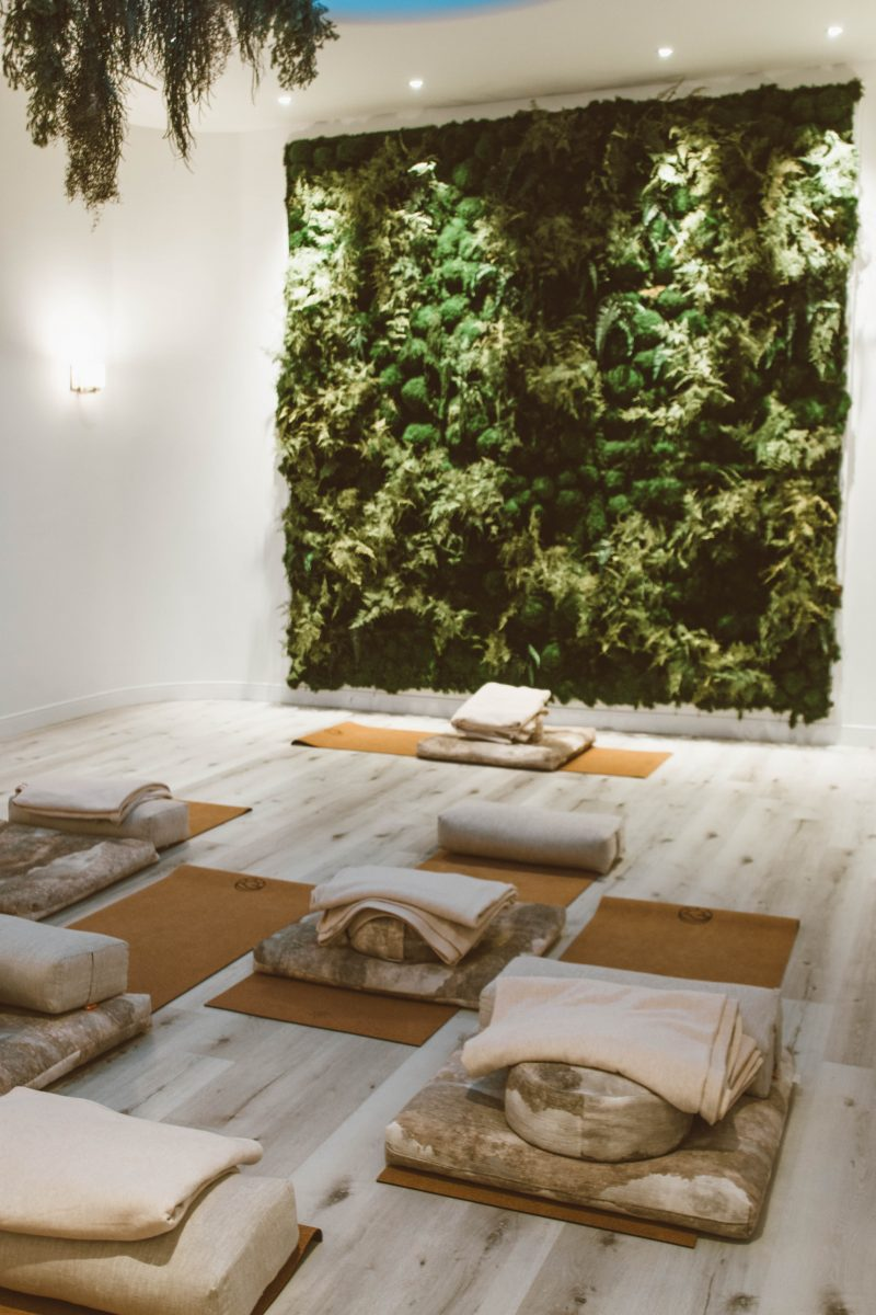 hoame light meditation room