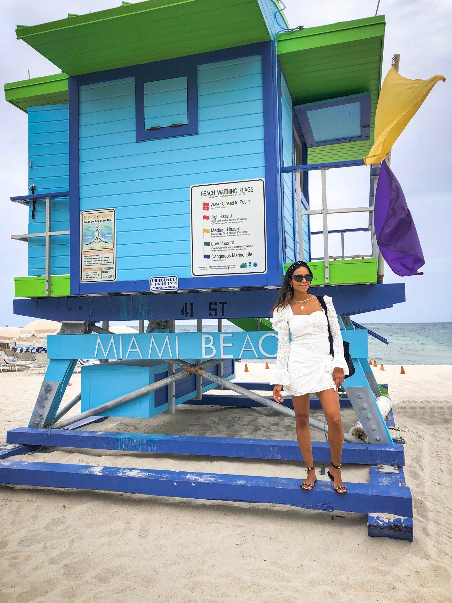 soho beach house lifeguard tower