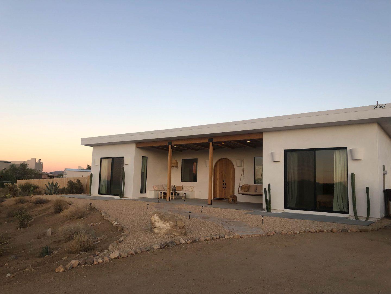 exterior shot of desert wild air bob