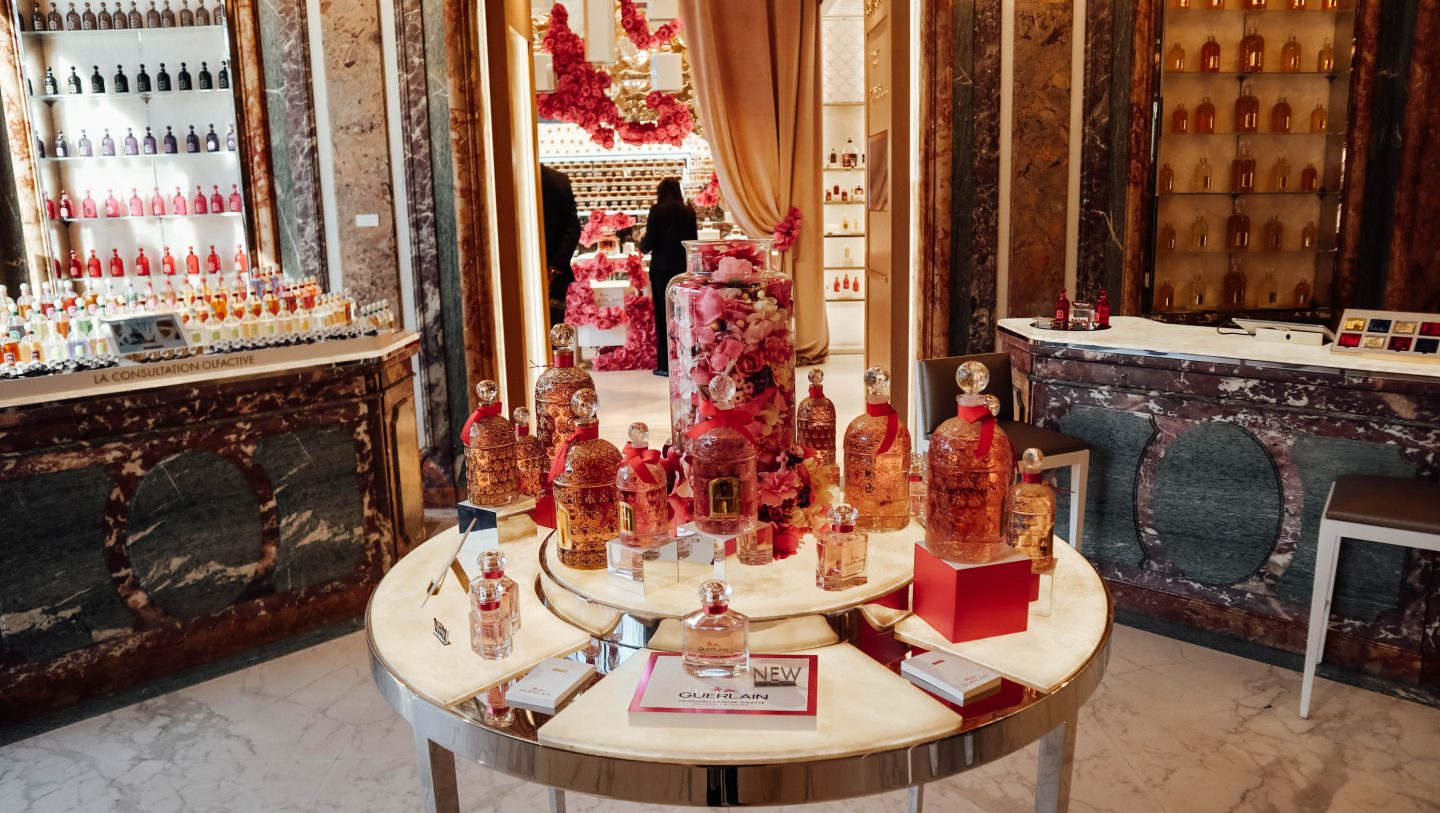 Guerlain perfume selection Paris