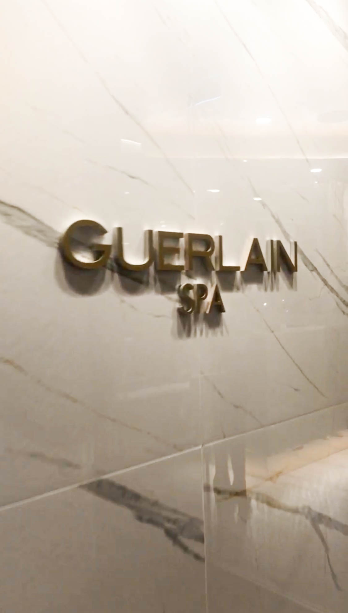 guerlain spa entry at hotel x