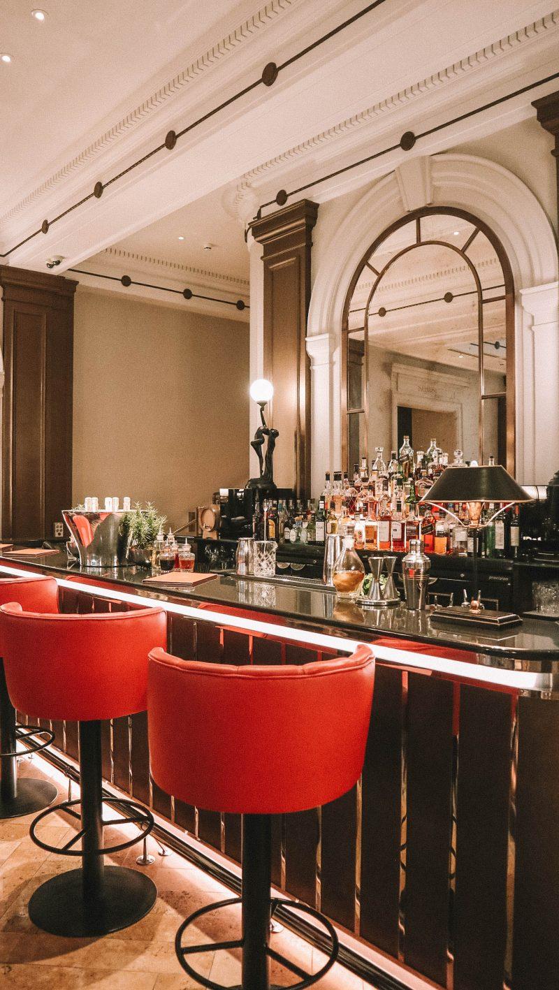 palm court bar in the sheraton hotel mayfair