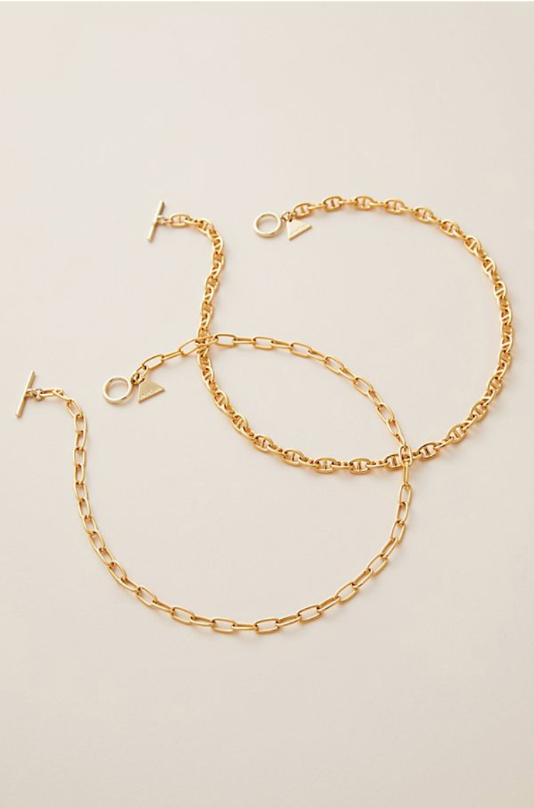 1. Anthropologie Choker Necklaces