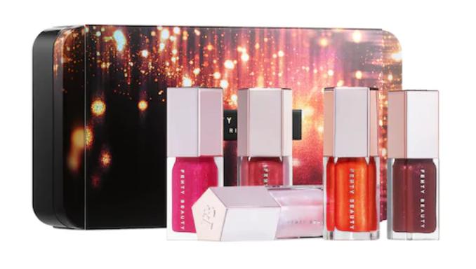 15. Fenty Beauty Glossy Posse Mini Set