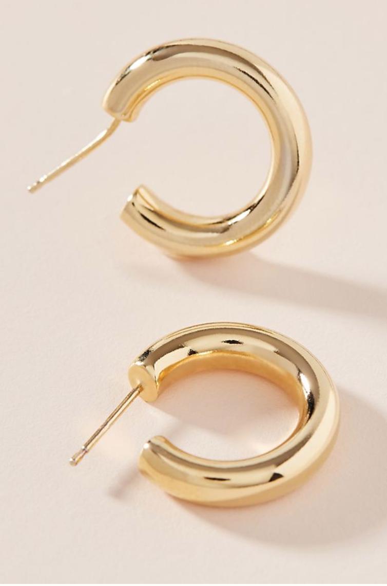 13. Mini Hoop Earrings