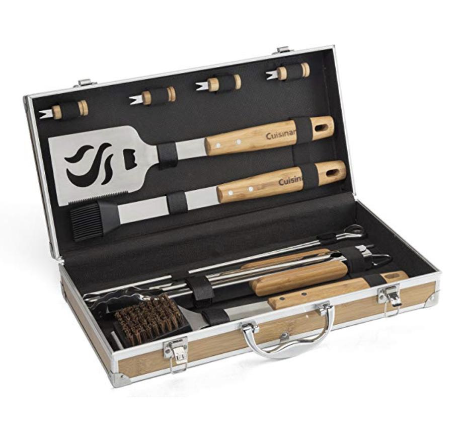 1. Cuisinart Bamboo Tool Set