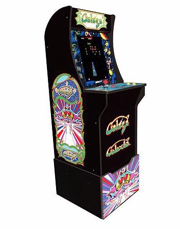 15. Arcade galaga game