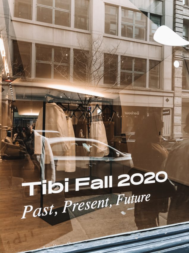 tibi fall 2020 sign