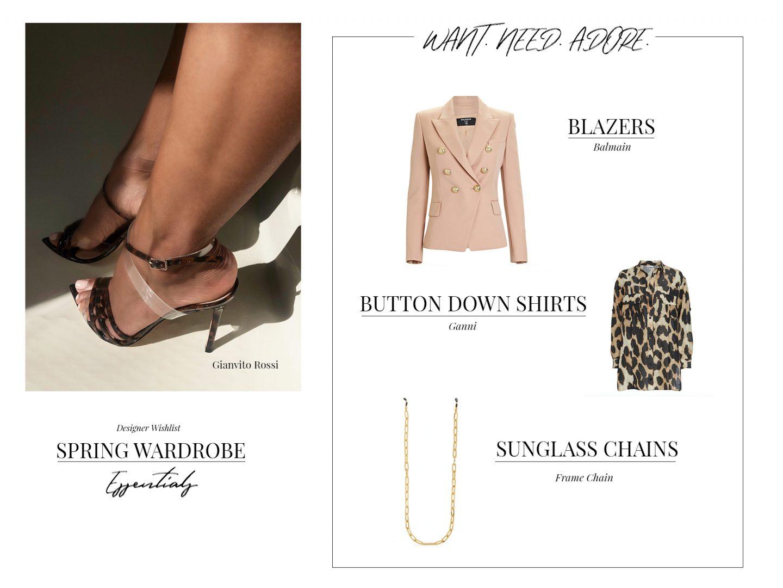 high end designer pieces for a spring wardrobe