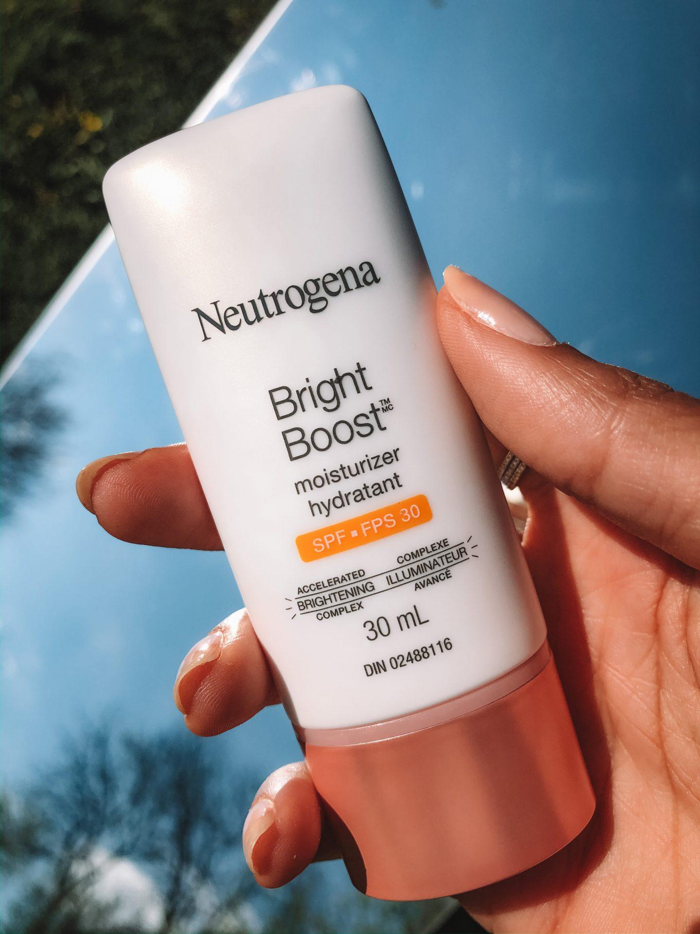 Neutrogena bright boost moisturizer hydrant