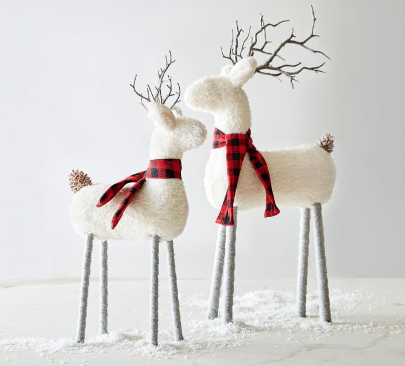 sherpa reindeer figurines