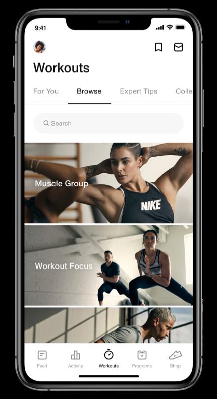 Nike Training Club workoutouts
