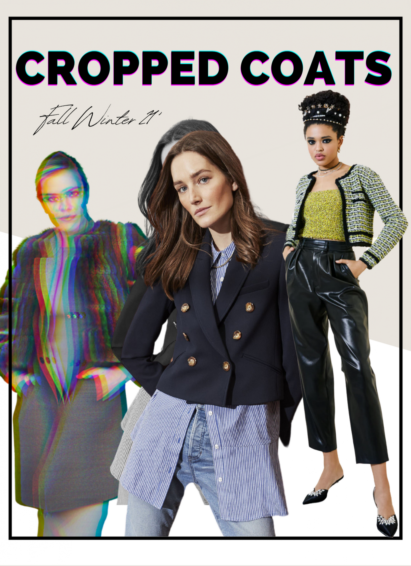 cropped jacket collage