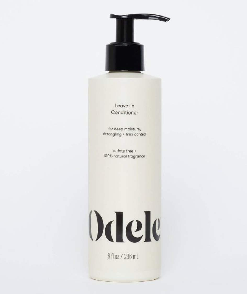 bottle of odele leave in conditioner