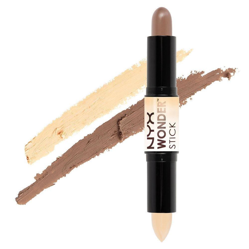 nyx wonder stick with makeup smear