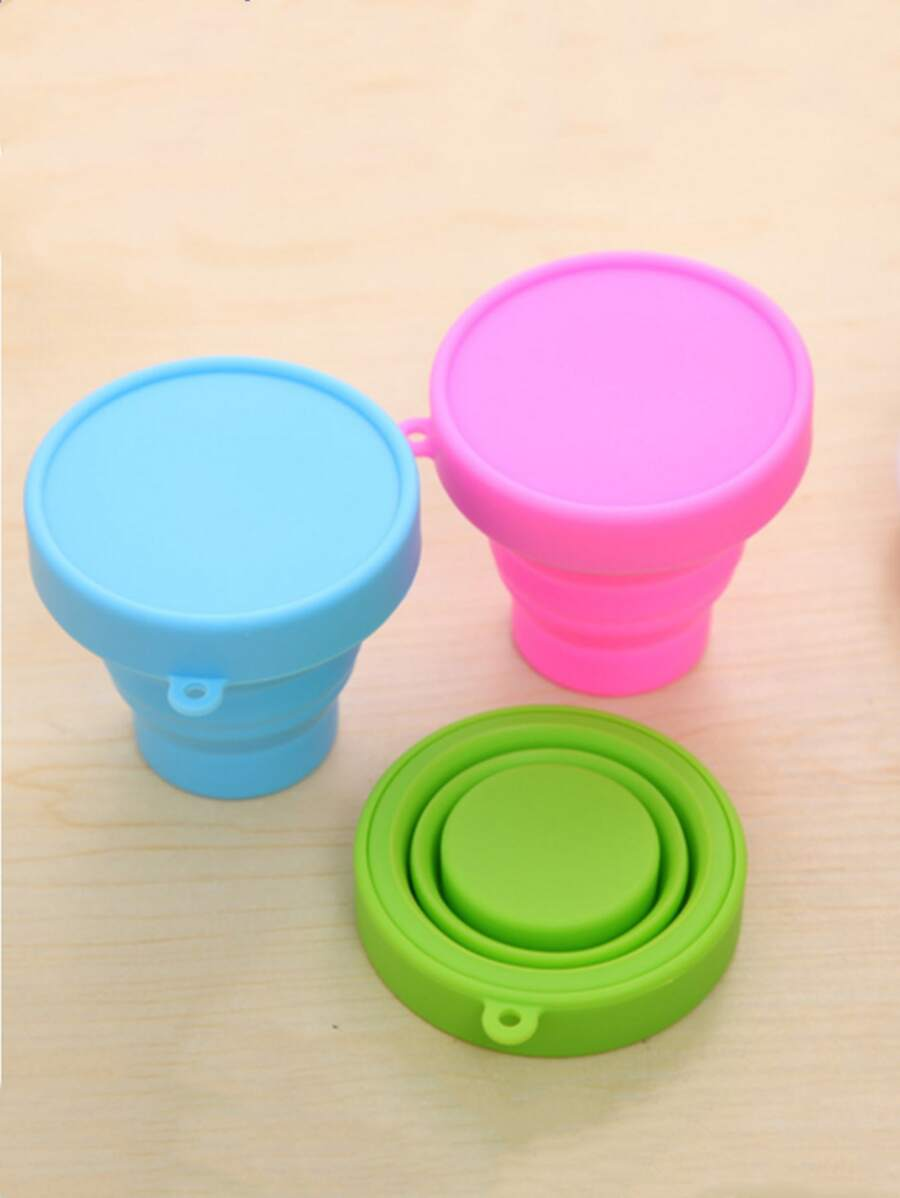 colourful collapsible cups