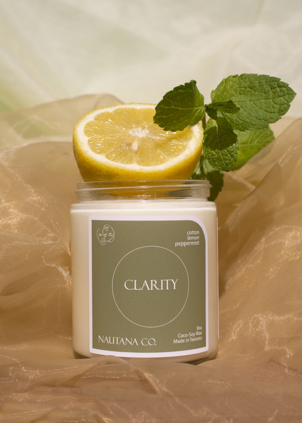Nautana clarity candle
