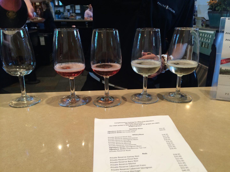 pellar estates wine tasting
