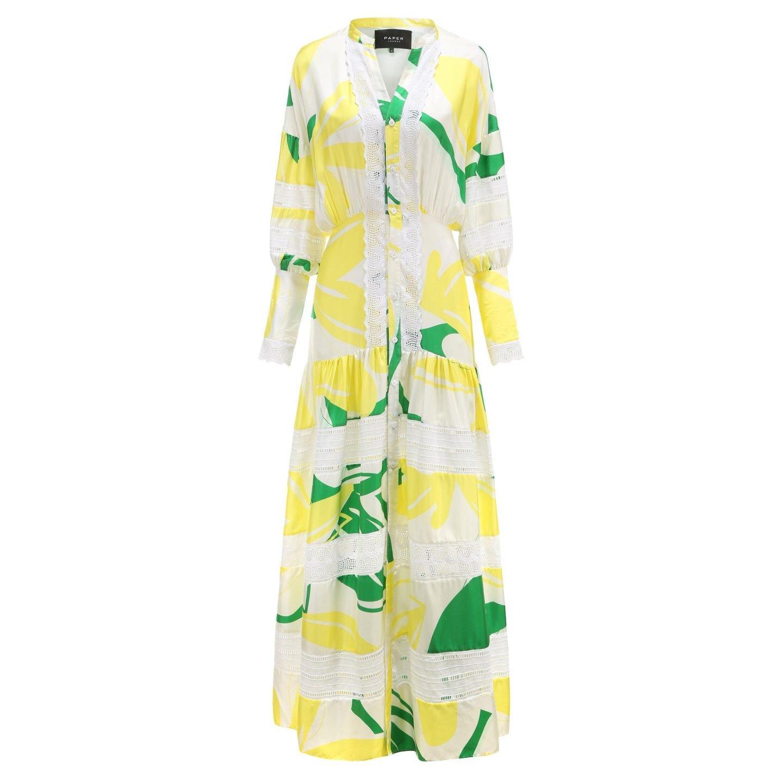 paper london hydrangea dress